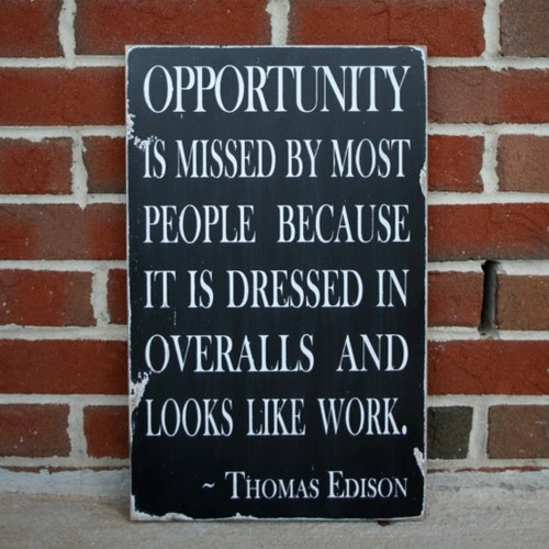 Edison on Opportunity