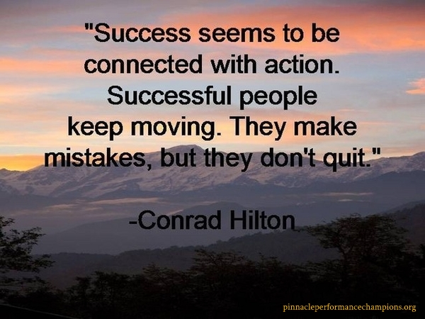 Success Quotes Pinnacle Performance Champions