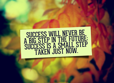 Success Quote Small Step