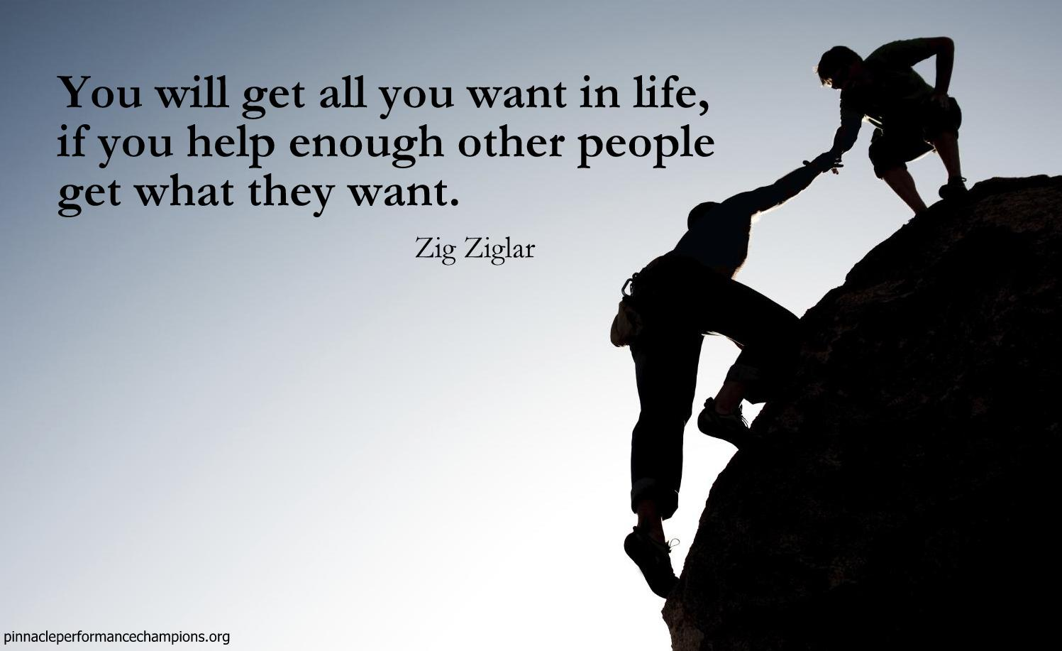 Quotes Zig Ziglar Success Lessons From Zig  Pinnacle Performance Champions
