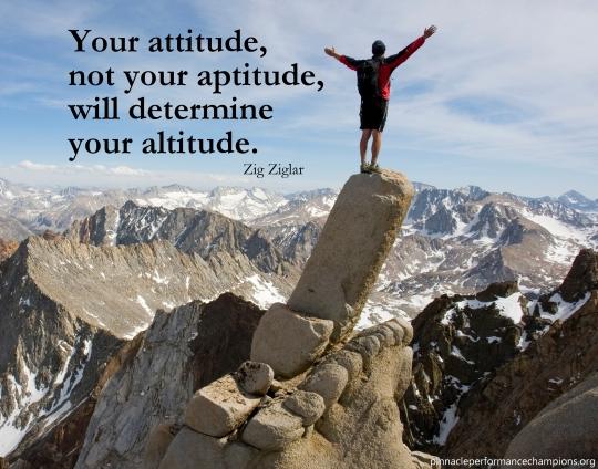Zig - Attitude Not Aptitude