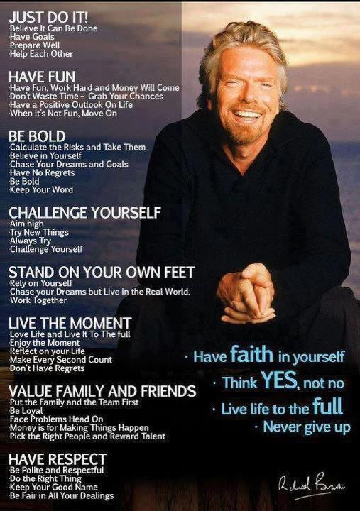 Branson On Success