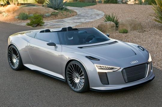 2014 Audi E-Tron Spyder