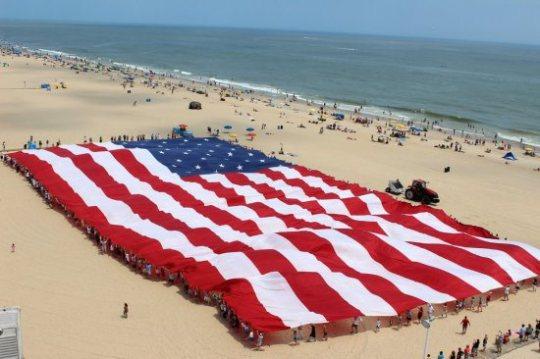 Big Beach Flag
