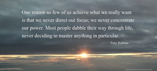 Tony Robbins Focus