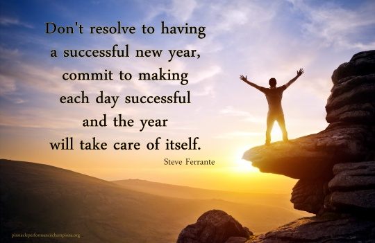 Commit to a Successful New Year 2016