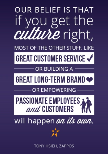 tony hsieh culture quote