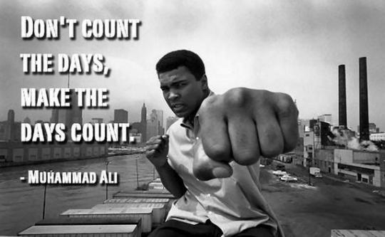 Ali Make The Days Count