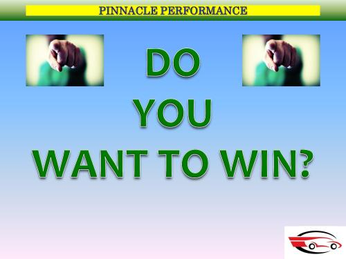 DO YOU WANT TO WIN